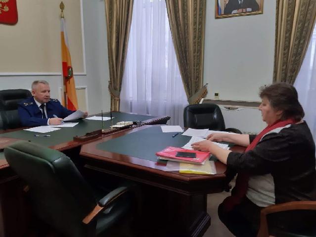 Прокурор области провел личный прием граждан в приемной Президента Российской Федерации в Рязанской области